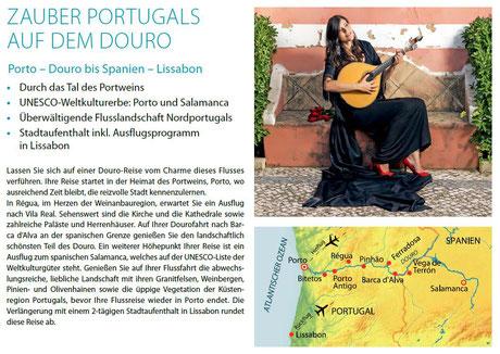 Flussreise auf dem Douro Portugal jetzt preiswert buchen