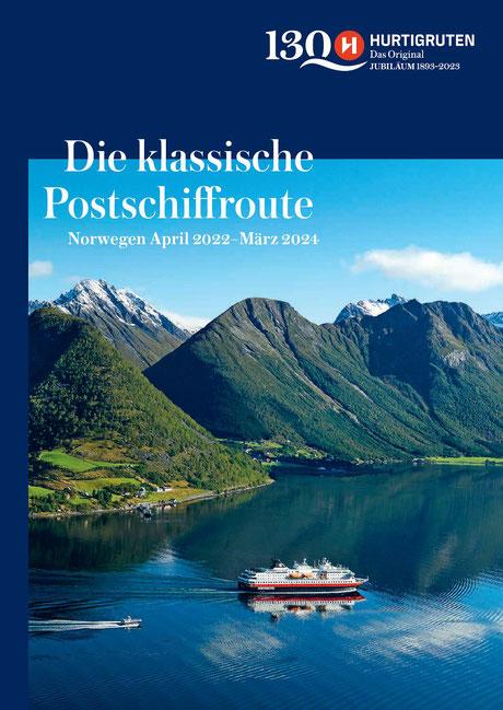 Hurtigruten Katalog bei dem Nordlandexperten Helmut Singer bestellen...