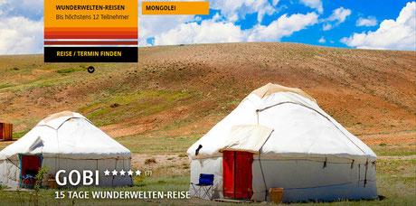 Mongolei reisen jetzt buchen