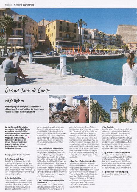 Korsika Individuell und ind der Gruppe -  jetzt Ihre Reise buchen...