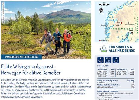 Wandern in Jotunheimen Norwegen...