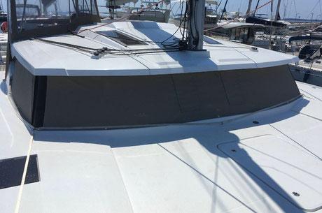 reparation tauds voilier, reparer biminis voilier var 83