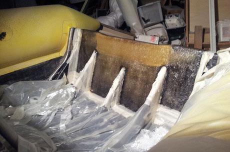 réparer résine composite voilier hyeres, var, frejus cannes saint tropez