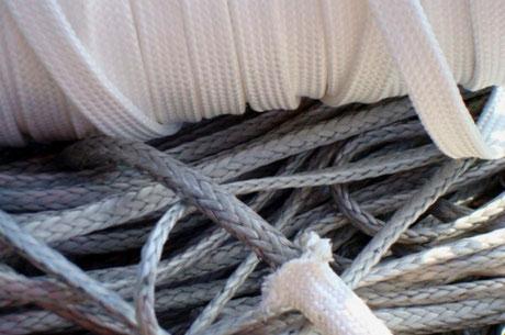reparer cordage var, finition drisses, finition écoutes, cordages bateau