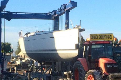 transfert de bateau skipper voilier toulon