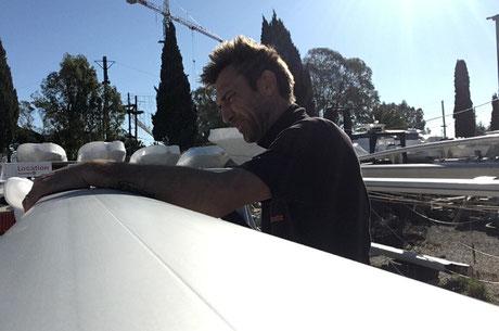 reglage tension mat, regler gréement va, gréeur de bateau