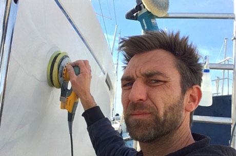 lustrage coque bateau toulon, lustrer coque bateau hyeres, saint mandrier la seyne la ciotat
