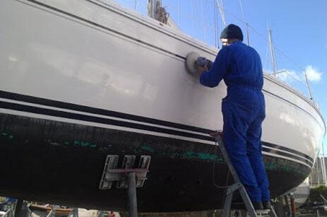 reparation gelcoat bateau toulon, reparer gelcoat voilier hyeres