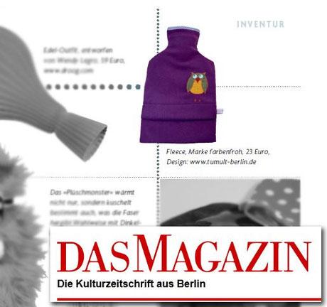 Das Magazin. Januar 2012.