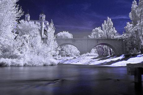 Cuenca, puente de San Antón, río, Júcar
