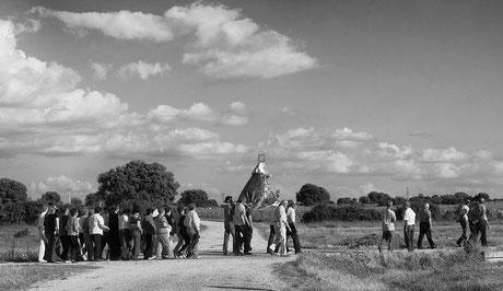 Virgin procession