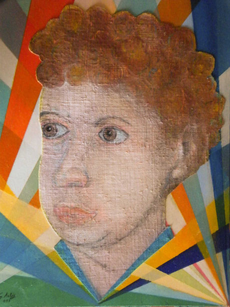 Portrait of Dylan Thomas by Gianpiero Actis