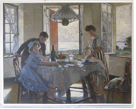 """Lucien Simon """"Le Petit Déjeuner"""" EZ"""