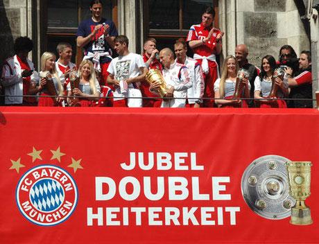 Auf Platz 2 der Ewigen Tabelle, der FC Bayern. Bild: ©Harald Bischoff