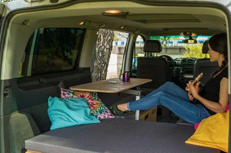 Campingausbau für Vans