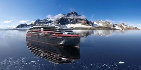 Zweites Hybrid-Expeditionsschiff MS Fridtjof Nansen