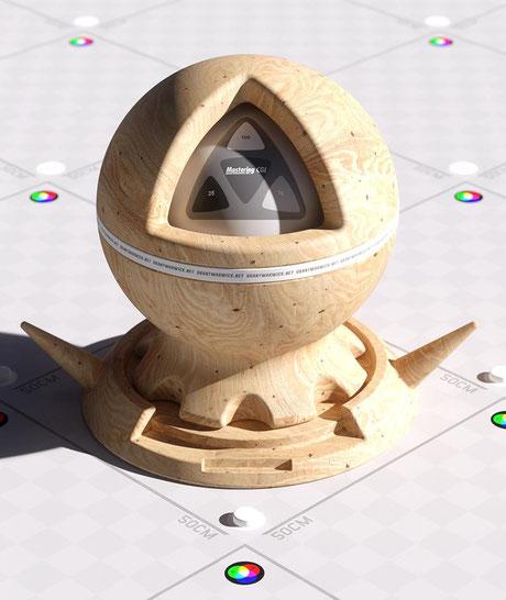 3ds Max V-Ray textura madera realista