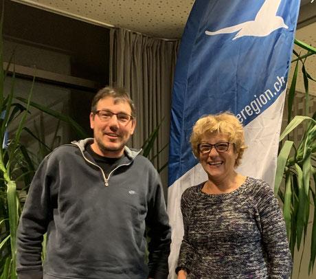 Bernhard Rentsch und Carola Hofstetter (Es fehlt Regina Engel)