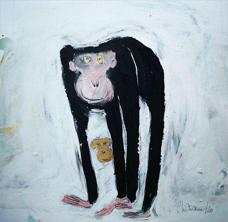 Christiane Holsten: Affenkunst X