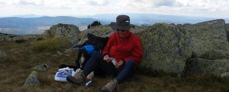 Repos au Mont Lozere