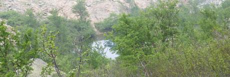 Le lac de Muvrella