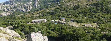 Le refuge de Manganu.