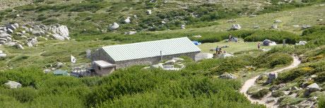 Le refuge de Prati.