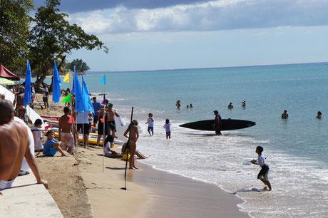Rincon, Puerto Rico, balneario, public, beach