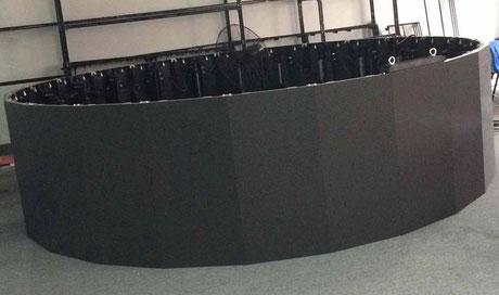 LED Screen curvable +- 10° Pixelpitch 3,9 mm