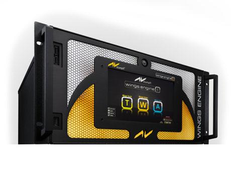 Wings Professional Medienserver 4 x DVI-I Input 2 x HD-SDI
