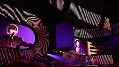 Konzert-Screen hochauflösend 3,9 mm Pixelabstand