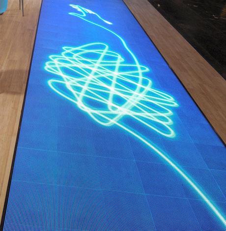 LED floor Highresolution 6,2 mm Pixelpitch