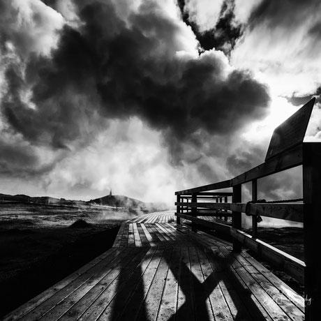 Island, Gunnuhver, Hochtemperaturgebiet, 2015, © Silly Photography