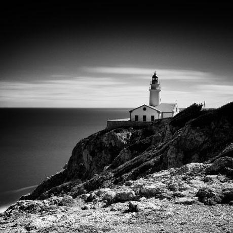 Mallorca / Cala Ratjada, Leuchtturm Far de Capdepera, Langzeitbelichtung, 2015, ©Silly Photography