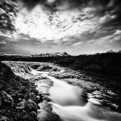 Island, Bruarfoss,Wasserfall, Langzeitbelichtung, 2015, © Silly Photography