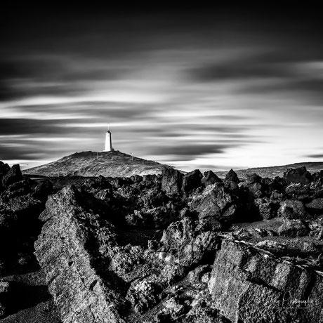 Island, Leuchtturm Reykjanestviti, Langzeitbelichtung, 2015, © Silly Photography