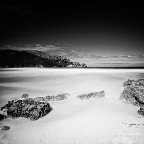 Mallorca / Cala Agulla, Langzeitbelichtung, 2015, © Silly Photography
