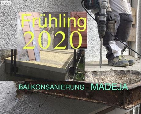 Balkonsanierung MADEJA e.K.