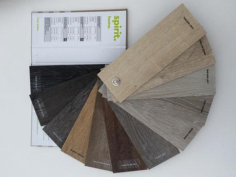 Vinylboden Fächer - Beratung - Planung - Ausführung