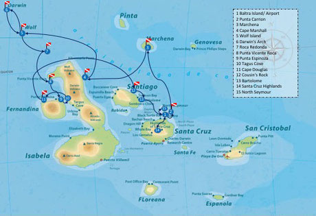 Galapagos Shark Diving - Special 15 day Itinerary