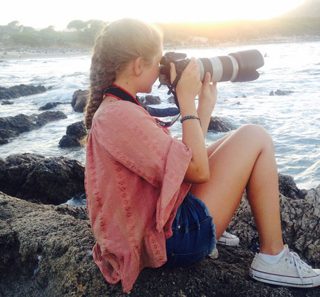 Sinikka Huth mit Canon EOS5