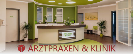 moderne Arztpraxen & Klinik