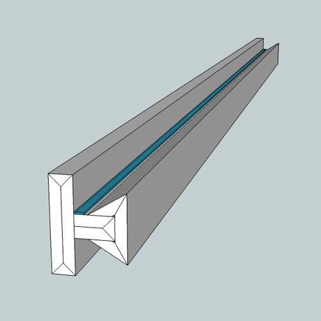 Lichtvoute Dezent zur Ausleuchtung von Treppenhäusern mit indirektem Licht