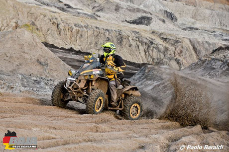 Pascal Troyon su Can Am Renegade, vincitore quad