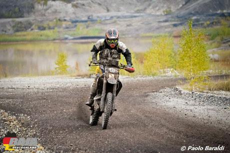 Robert Van Pelt su Honda CRF 450X, vincitore bike sotto i 180kg
