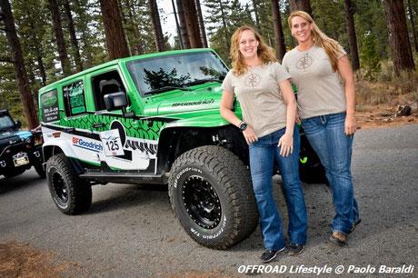 Charlene Bower e Kaleigh Hotchkiss vincitrici 4x4 class