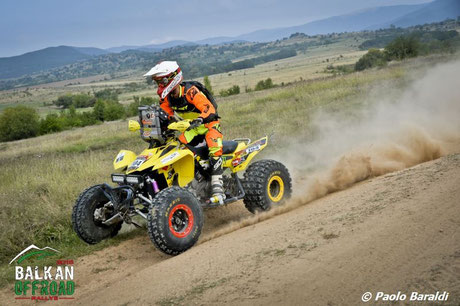 Kevin Chenu, vincitore categoria quad