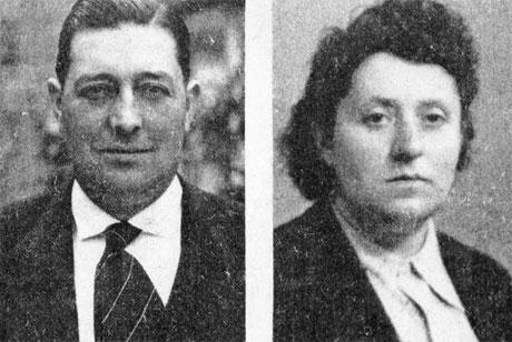 Adrien Vermughen et son épouse