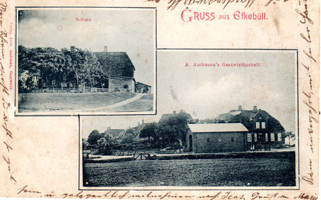 """Die """"Alte Schule"""" und Willi`s Gastwirtschaft"""