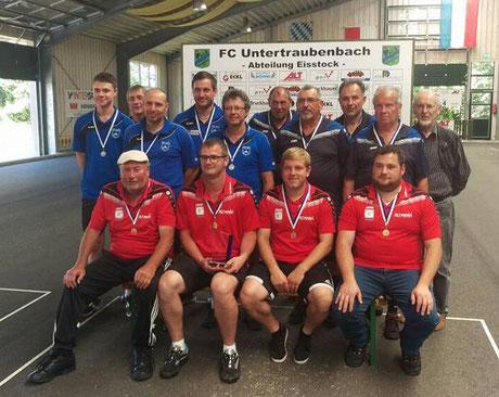 Siegerfoto Bezirkspokal Herren - Sommer 2017